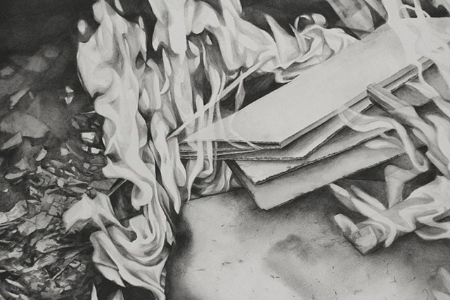 Up in Smoke (detail)