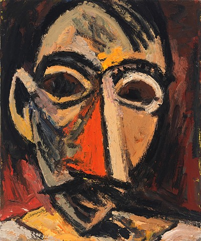 After Picasso (Head No. 2)