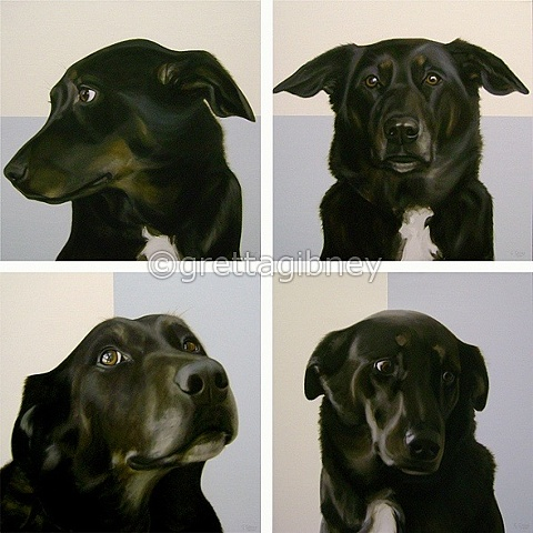 in the ruff, polyptych
