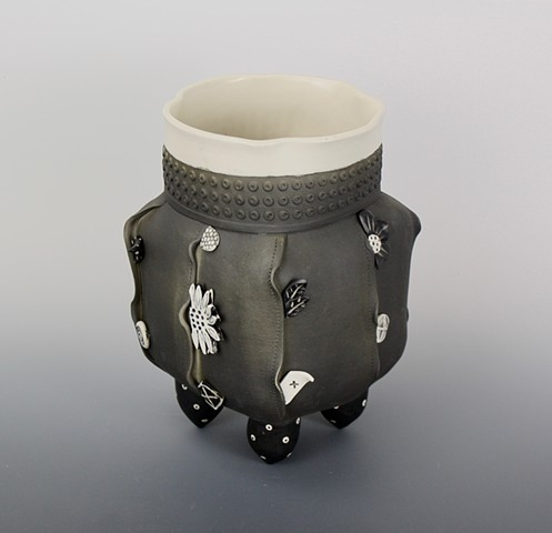 Porcelain vessel by Laura Peery