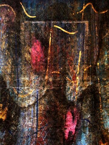 Behind Each Curtain ... winter  -detail