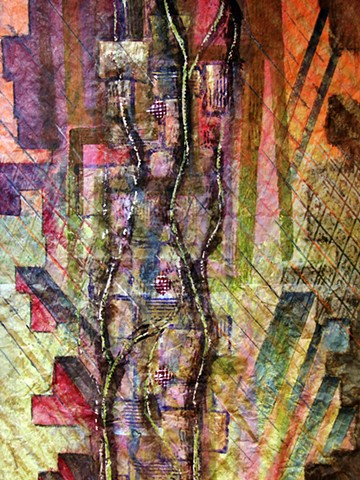 detail - Canyon Passages - Late Spring Flood