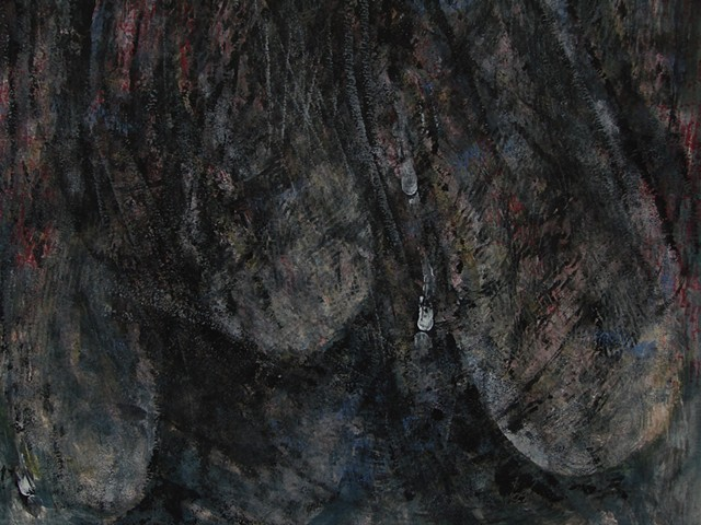 Visiting the Recluse - detail