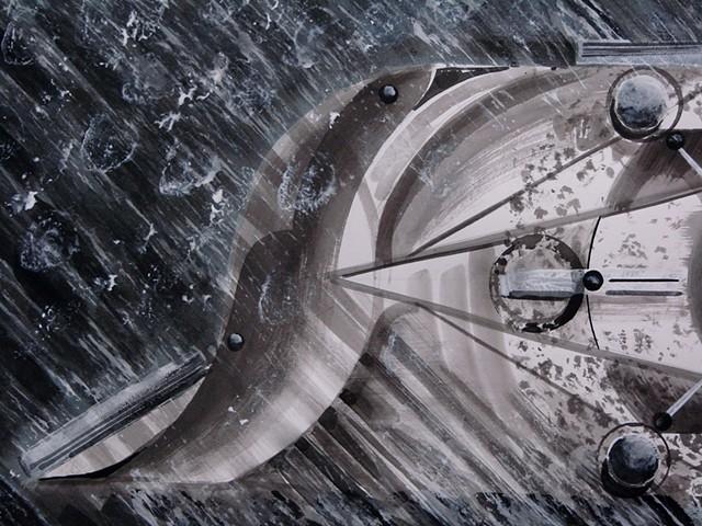 """detail 1 - """"Sun Fish Solar Vane"""""""