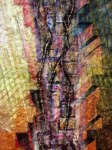 detail - Canyon Passage - Rain Razed Ruin -Generations