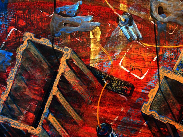 detail - Revisiting Disappointment's Junkyard - Closer (red)