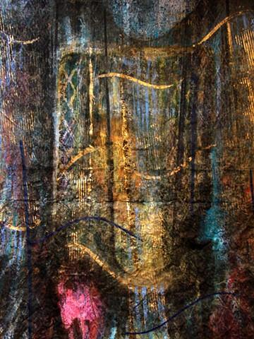 Behind Each Curtain ... twilight   -detail