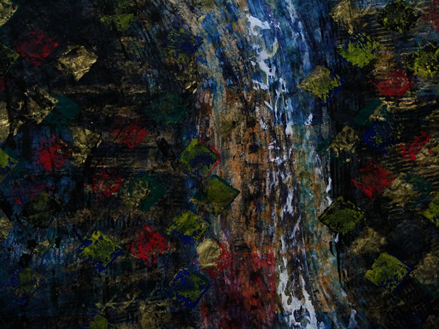 detail 2 - Waterfall for Rob