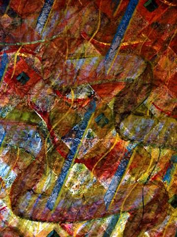 detail - Last Heat Weft of Autumn