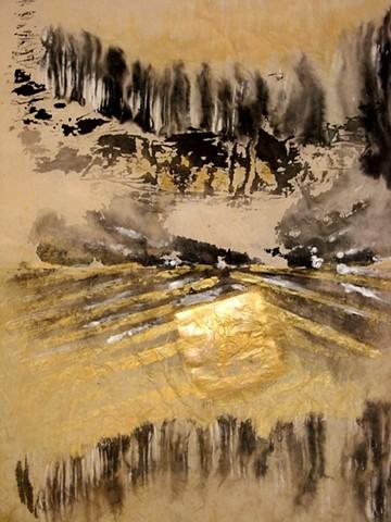 detail - 'Mountain Lake'