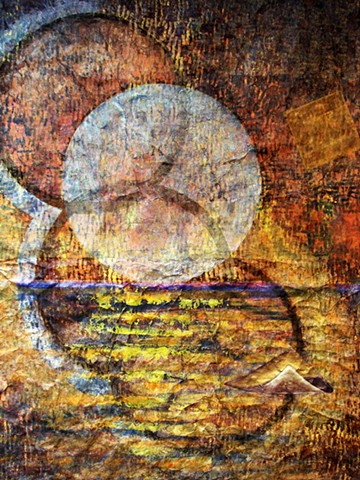 detail of 'Full Cold Moon - Sail'