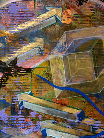 detail - Study for Mountain Afterimage #1