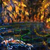 detail - The River Trees - Particle Flow