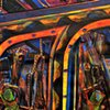 detail - Impatient Compassion in the Theatre of Time - Overpassed with a Line from the Future