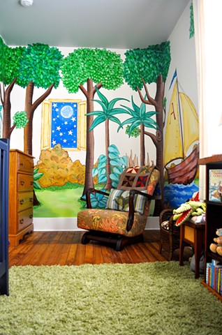 Wayland's Where The Wild Things Are Room