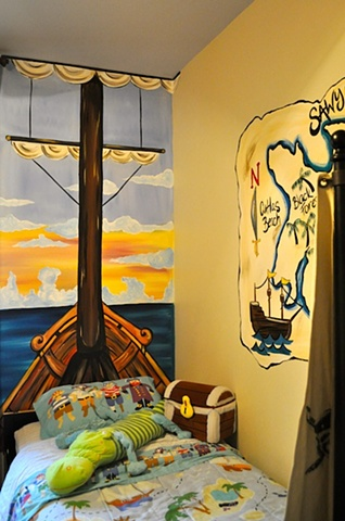 Sawyer's Pirate Room