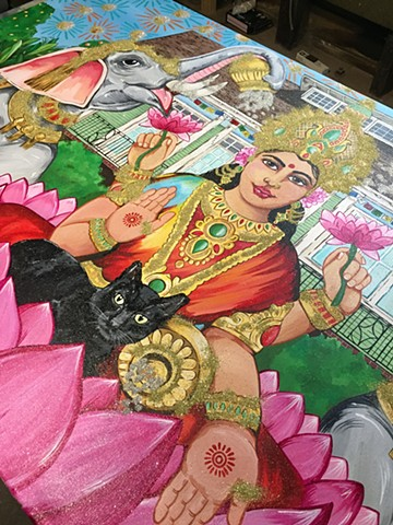 Lakshmi in Progress
