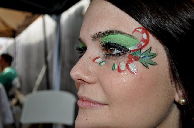 A Christmas Eye Design