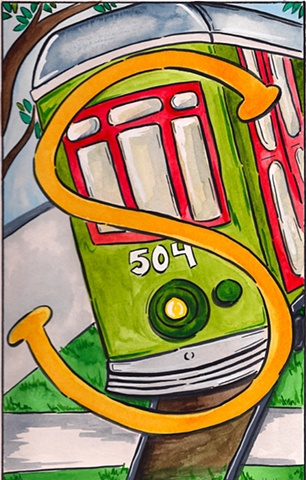 S is for Streetcar