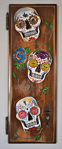 Day of the Dead Door