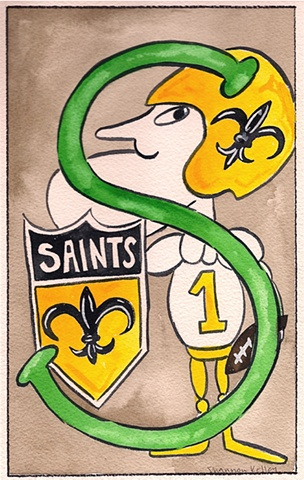 S is for Saints
