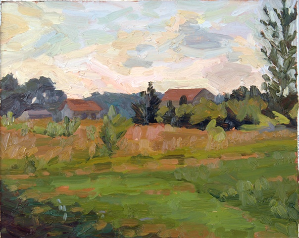 Landscape From Lane