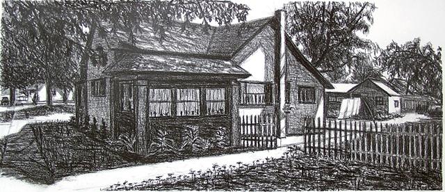 Corner of House in Casstown