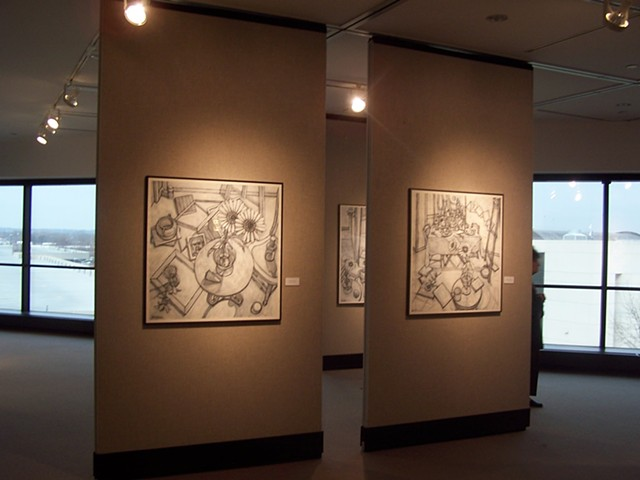 Solo exhibit at Sinclair Community College, Dayton, Ohio