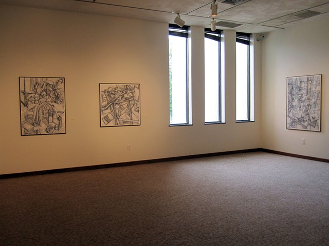 2012 Solo Exhibit at Anderson University , IN
