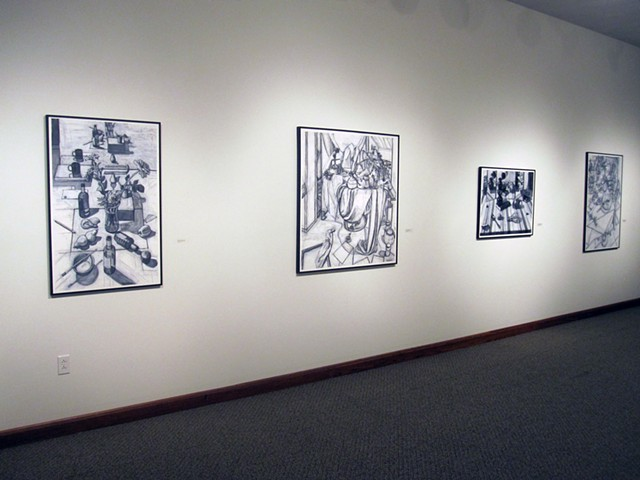 Anderson University, Wilson Galleries, Drawings by Kathy A. Moore