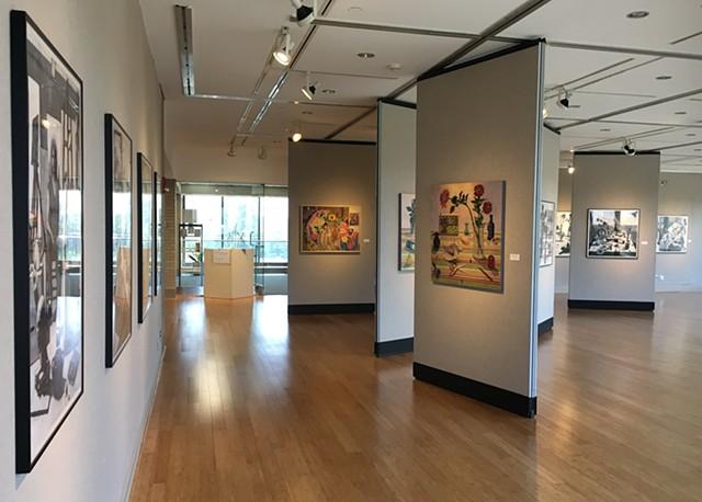 2018 Solo Exhibit at Sinclair Community College, Dayton Ohio