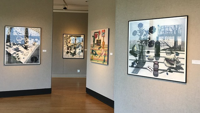 2018 Solo exhibit in Triangle Gallery at Sinclair College, OH.