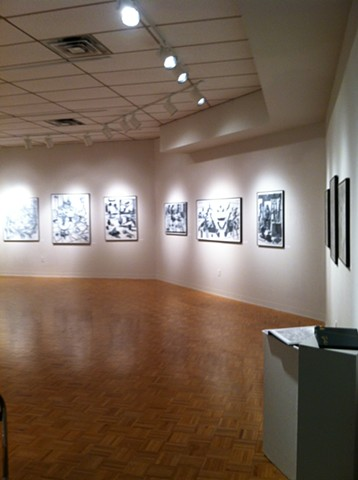 Solo exhibit at Wright State University in the Experimental Gallery, Dayton, Ohio.