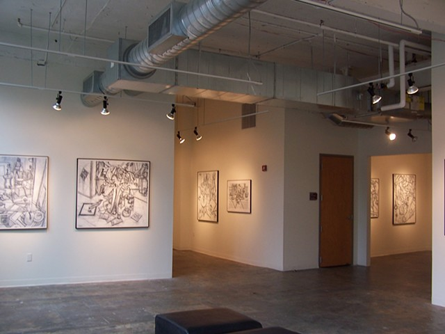 Solo exhibit at The Art Academy of Cincinnati, OH