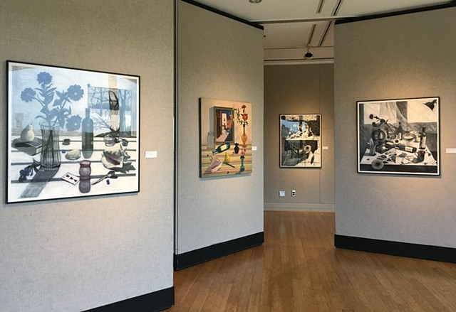 2018 Solo exhibition at Sinclair Community College Triangle Gallery, Ohio.