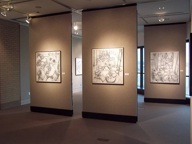 2010 Solo exhibit at Sinclair Community College, Dayton, Ohio