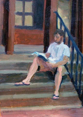 Andy Reading on Steps