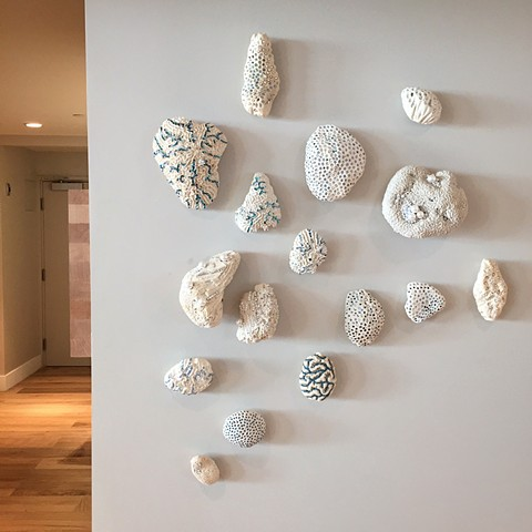 Coral Wall Installation - The Westin Hotel Grand Cayman