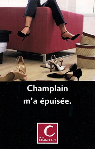 le Mail Champlain | Cossette communication