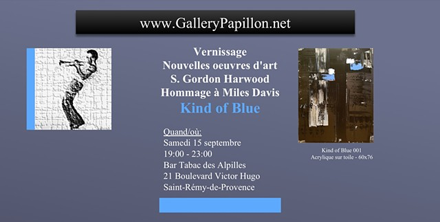 Miles Davis - Kind of Blue - France Exhibit -Sept 2018  (click to view)