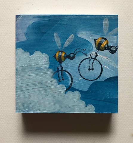 matt lively painting Beecycles