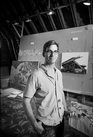 Photograph by John Henley in the Barn Studio