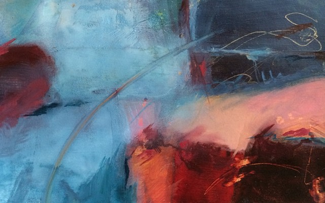 abstract painting by Edie Fagan