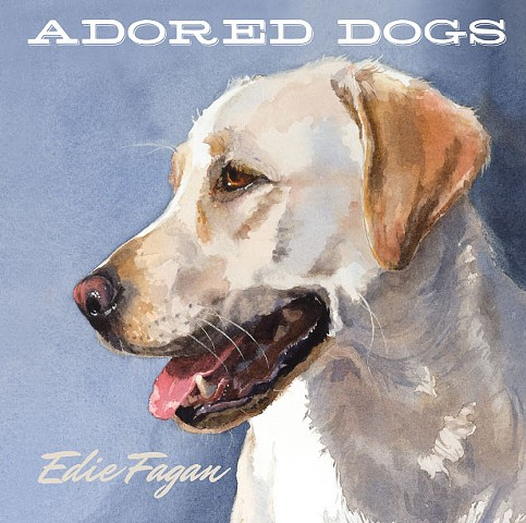 dog book, watercolor dog portraits,