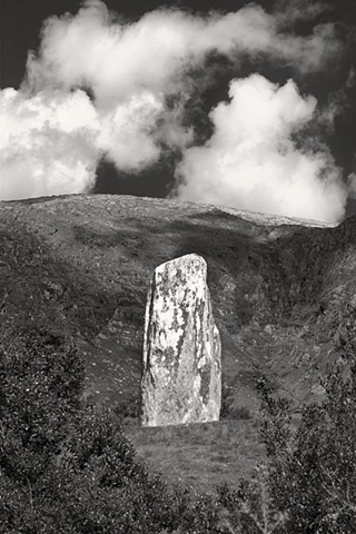 Standing Stone Ring Of Beara, County Cork Ireland