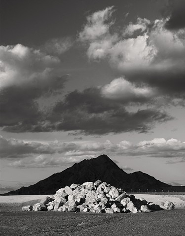 Frenchman Mountain And Rubble, Mojave Desert