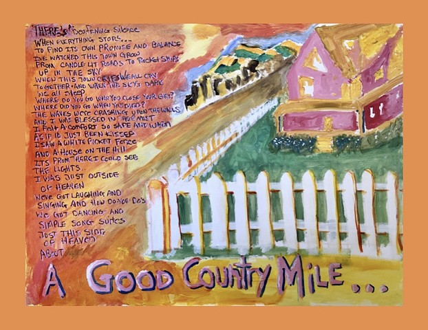Good Country Mile (orange border)