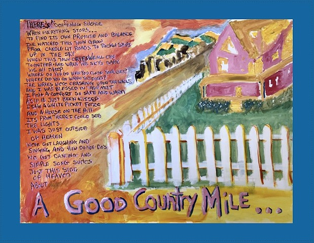 Good Country Mile (blue border)