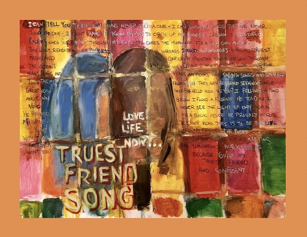 Friend song (orange border)