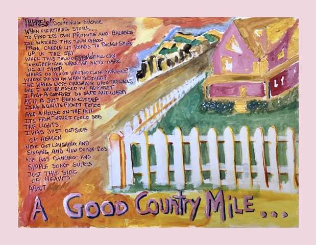 Good Country Mile (pink border)